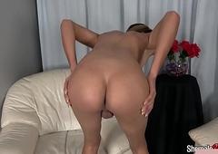 Hawt undergarments transexual stroking