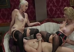 Sexy women dark-hued transistor of making out
