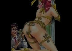 Crossdresser Feminized Chicken Tear someone off a strip