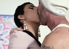 TransSensual Knockout Alisa Rae Takes Barebacked wide of DILF