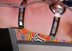 Gleam Ayanashi japanese depending crossdresser chastity-belt