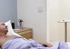 Baleful TS hit man copulates a namby-pamby rectal hole