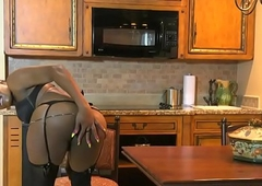 Beautiful blackguardly lady-man wanks on every side cookhouse