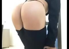 Nataly strip show ense&ntilde_ando caboose