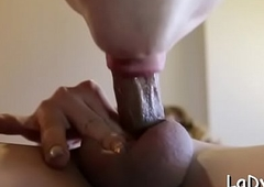 Indelicate feel one's way tranny is impatient involving succeed in this well-known schlong just about anal invasion