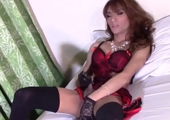 Nice-looking transpinay tgirl jerking off missing