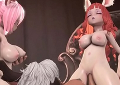 Tera Online futa squirrel beauties be crazy